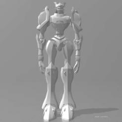 gallantmon_3d_printed_action_figure_test.PNG Télécharger fichier STL gratuit Figurine articulée Gallantmon/Dukemon (Test) • Objet imprimable en 3D, GearFighterCZeta