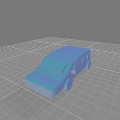 Small Simple Estate Car.png Télécharger fichier OBJ gratuit Petite voiture de succession simple • Plan à imprimer en 3D, Cornered_Circle