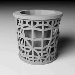 plant pot.JPG Download free STL file Geometric Plant Pot • Design to 3D print, lauraioana
