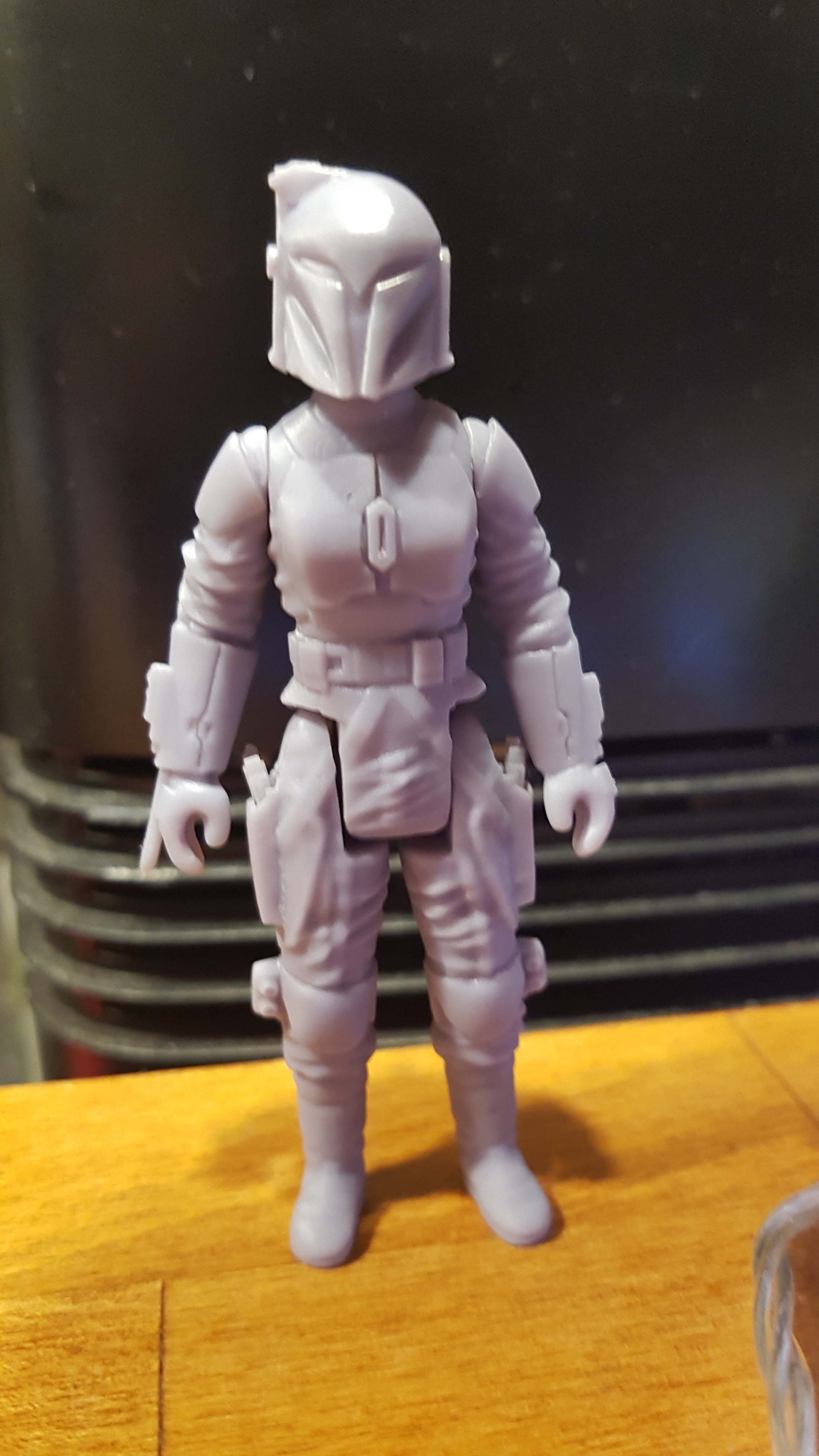 Download STL file STAR WARS.STL THE MANDALORIAN, Bo Katan and crew OBJ. KENNER STYLE ACTION FIGURE. • 3D print template, stabilobox