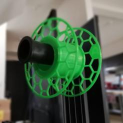 sd4.PNG Download free STL file Mini Spool lite • 3D printer object, fajardodela