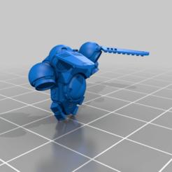 suppressor_backpack1.png Télécharger fichier STL gratuit Suspensions BackPack Jarheads Interstellar • Design pour imprimante 3D, AQUILON