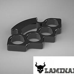 Untitled.JPG Download STL file Brass Knuckles • 3D printer template, Mario_DeathGear3d