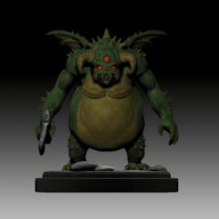 Vanguard Color 1.png Télécharger fichier STL Ames de démons - Miniature du chef d'avant-garde • Plan à imprimer en 3D, JailbreakArts