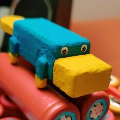 Perry_coloured-jpg.jpg Download STL file Platypus USB-Stick • 3D printing design, LSPrototyping