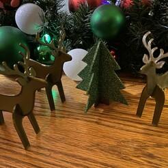 IMG_6622.jpg Télécharger fichier STL Puzzle des rennes découpés • Design à imprimer en 3D, 3dshebee