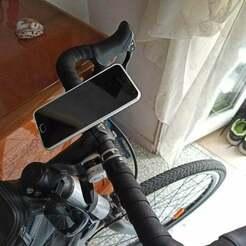 IMG_20200815_182233.jpg Download free STL file Bike smartphone mount with quick lock v2 • 3D printer model, DanTech