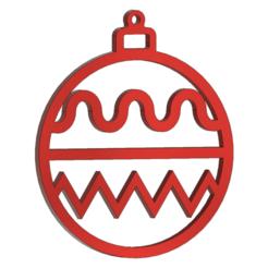 earrings_v4.png Télécharger fichier STL gratuit Boucles d'oreilles boule de Noël • Objet imprimable en 3D, DanTech
