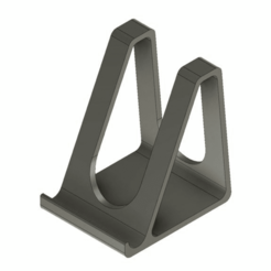 stand.png Download free STL file Smartphone stand holder • 3D printing object, DanTech