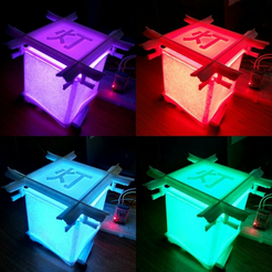 image.png Download free STL file Japanese style lamp whit strip led • Design to 3D print, DanTech