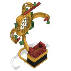 Solder_station_v17.png Download free STL file Solder station - third hand - helping hand • 3D print design, DanTech