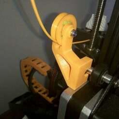 P90601-153232.jpg Télécharger fichier STL gratuit Ender 3 Guide des filaments avec repère imprimé en 3d • Plan imprimable en 3D, DanTech