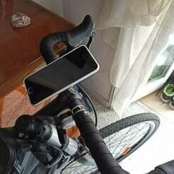 IMG_20200815_182233.jpg Télécharger fichier STL gratuit Support pour smartphone à vélo avec verrouillage rapide • Plan pour imprimante 3D, DanTech