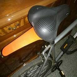 P91221-211733.jpg Télécharger fichier STL gratuit Aile de garde-boue de vélo de selle • Modèle à imprimer en 3D, DanTech