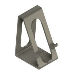 cell_stand_v2.png Download free STL file Smartphone stand holder • 3D printing object, DanTech