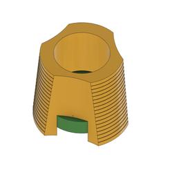 Support_Spool.png Télécharger fichier STL gratuit porte-bobine horizontal Ender 3 avec repérage imprimé en 3D • Design imprimable en 3D, DanTech