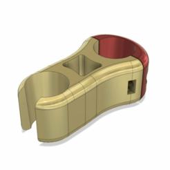 shower_holder_v7.png Télécharger fichier STL gratuit Porte-douche • Objet à imprimer en 3D, DanTech