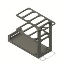 Untitled_v7.png Télécharger fichier STL gratuit Porte-outils Ender 3 • Plan pour impression 3D, DanTech