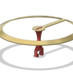 Led_support_v5.png Télécharger fichier STL gratuit lumière led circulaire sur la fente en V • Modèle à imprimer en 3D, DanTech