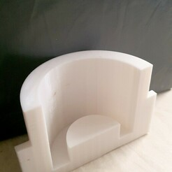 3dcultcandleholder.jpg Télécharger fichier STL Moule à bougie, béton, vis de maintien sur les côtés • Modèle imprimable en 3D, attilagazdag
