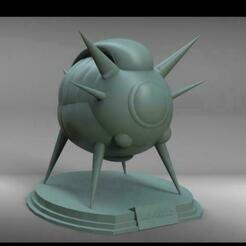SHIP.jpg Télécharger fichier STL DRAGON BALL Z NAVE NAMEK / SHIP NAMEK • Design pour imprimante 3D, Santdarien
