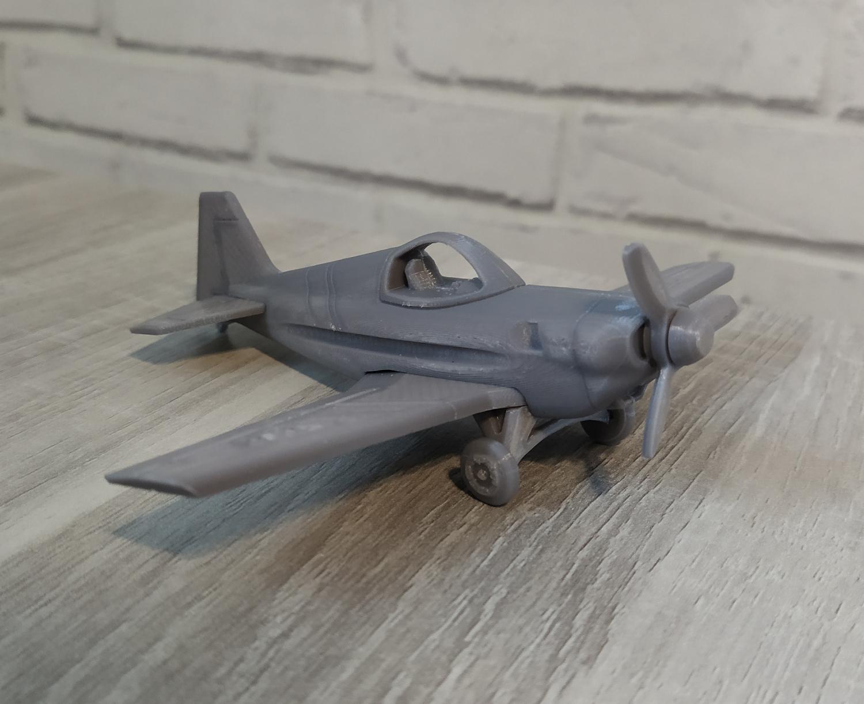 RealBrut4_g.jpg Download free STL file A02 Plane C-3D • Template to 3D print, Ben_C3D