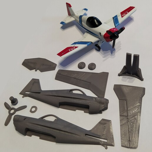 RealBrut3_g.jpg Download free STL file A02 Plane C-3D • Template to 3D print, Ben_C3D