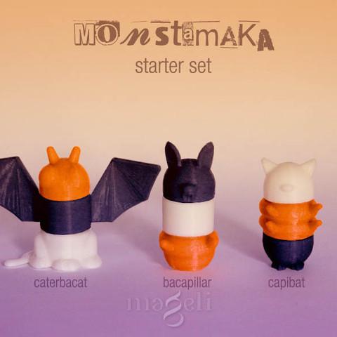 monstamaka_starter_set_3.jpg Download free STL file 3D Monstamaka • 3D printing design, mageli
