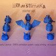 Free stl files 3D Monstamaka, mageli