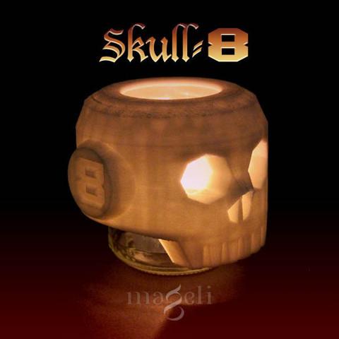 Free 3d model skull-8, mageli