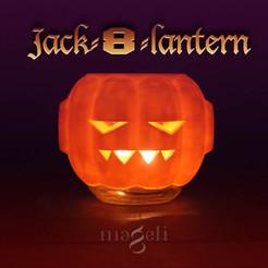 Free 3D printer designs Jack-8-lantern, mageli