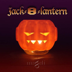 jack8lantern1.jpg Download free STL file Jack-8-lantern • Object to 3D print, mageli