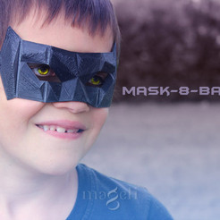 Download STL file mask-8-bat • 3D print design, mageli