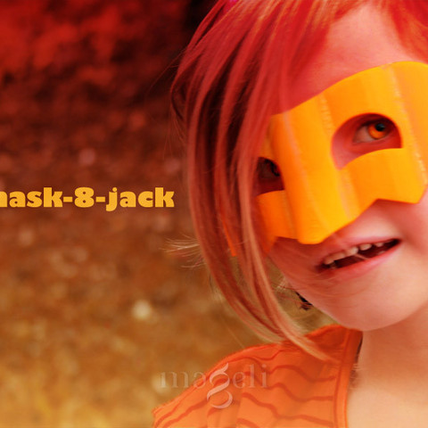 Télécharger fichier impression 3D gratuit mask-8-jack, mageli