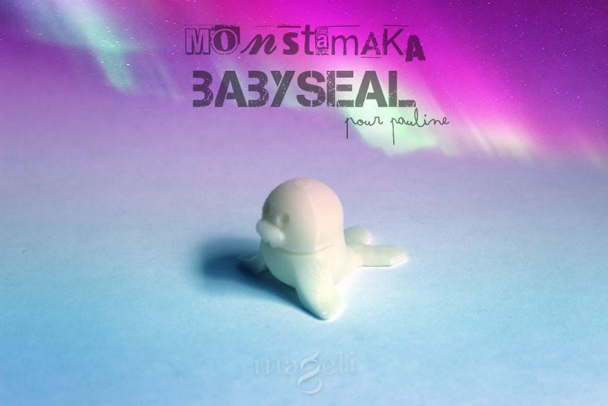 mtmk_trifix_babyseal_5.jpg Download free STL file Babyseal • 3D printable model, mageli