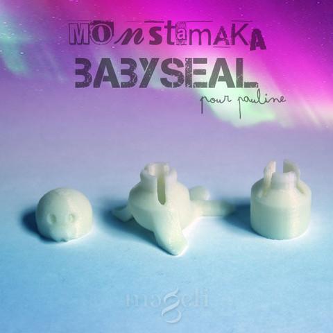mtmk_trifix_babyseal_6.jpg Download free STL file Babyseal • 3D printable model, mageli
