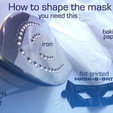 Download STL file mask-8-bat • 3D print design, mageli