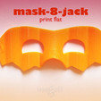 Free 3d printer designs mask-8-jack, mageli