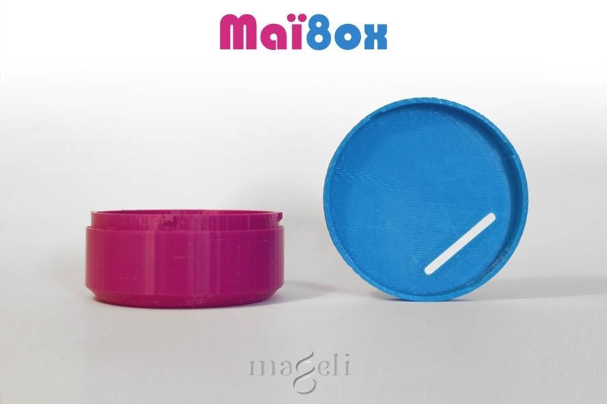 maïbox 2.jpg Download free STL file Maï8ox • 3D printer template, mageli