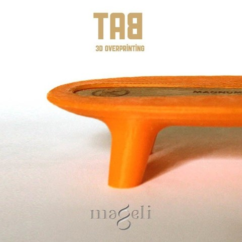 TAB 3.jpg Download free STL file tab • 3D printer template, mageli