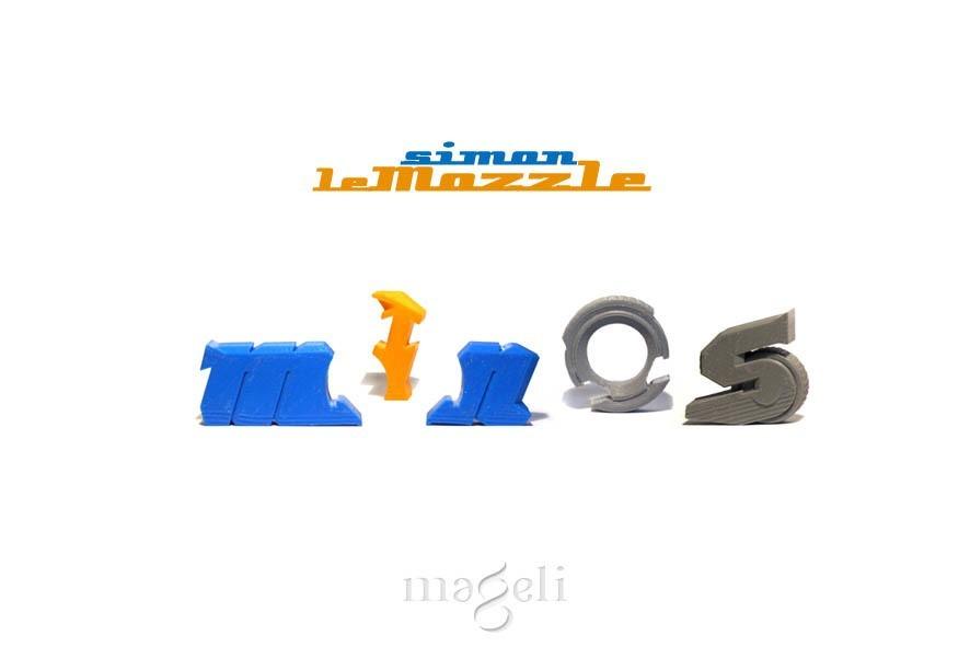 mozzle simon 5.jpg Download free STL file Simon, the mozzle • 3D print model, mageli