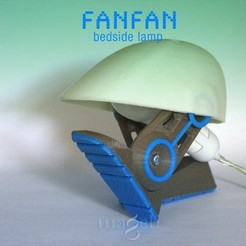 3d printer model Fanfan, mageli