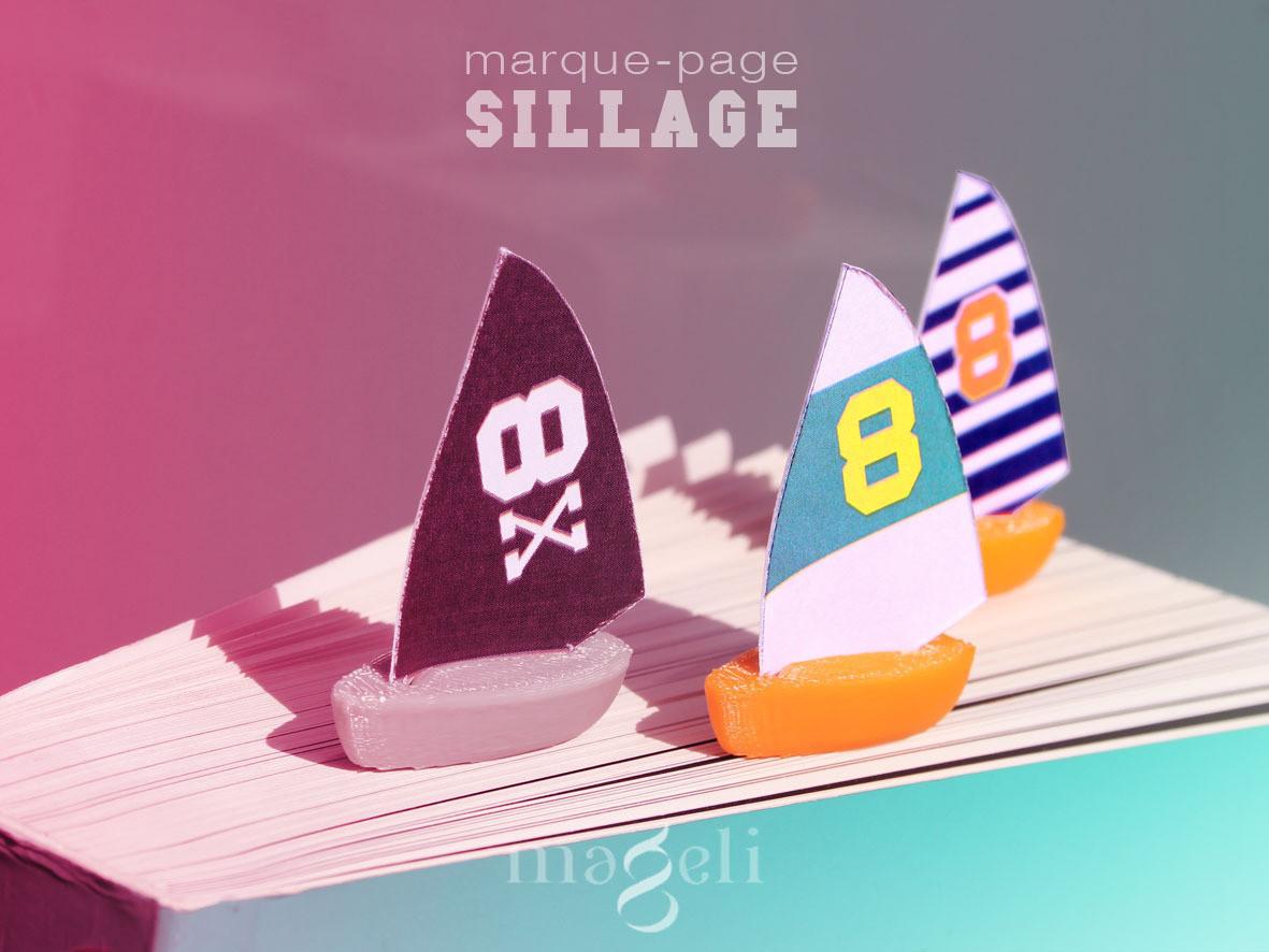 sillage1.jpg Download free STL file Sillage • 3D print design, mageli