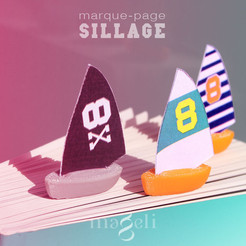 Free 3D file Sillage, mageli