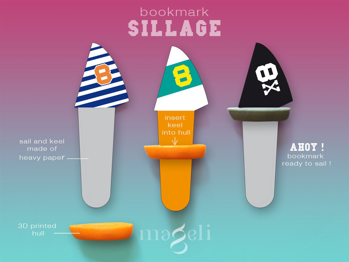 sillage2.jpg Download free STL file Sillage • 3D print design, mageli