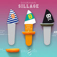 Free 3D file Sillage, mageli