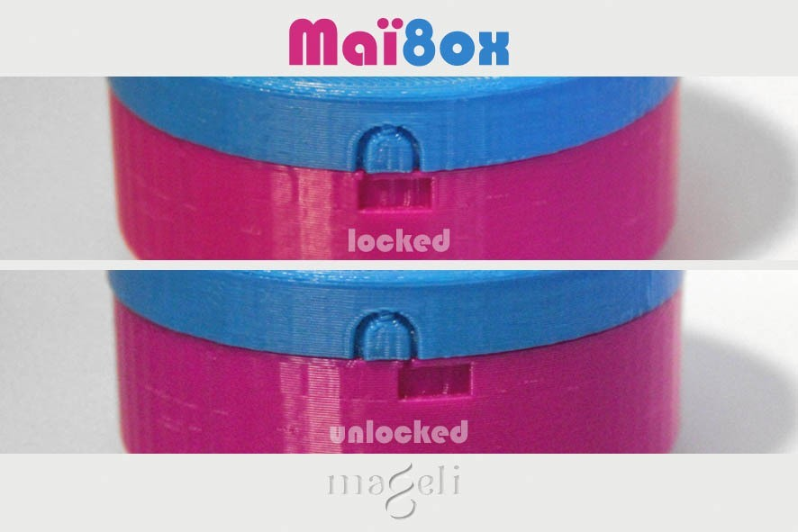 maïbox 3.jpg Download free STL file Maï8ox • 3D printer template, mageli