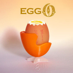Download 3D printing models eggO, mageli