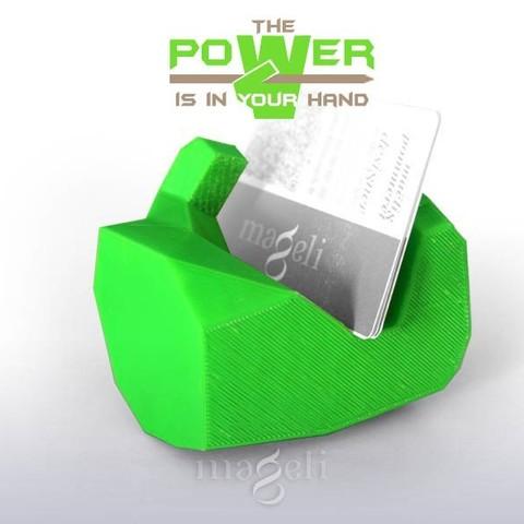 poWer 5.jpg Download free STL file PowerHand • Model to 3D print, mageli