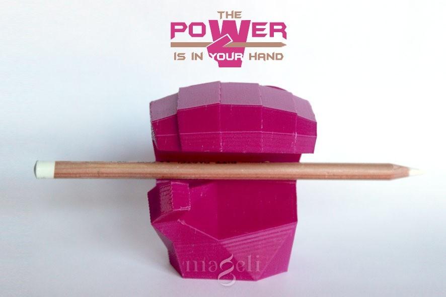 poWer 1.jpg Download free STL file PowerHand • Model to 3D print, mageli